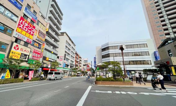平井駅南口周辺