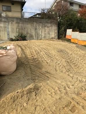 奈良市学園南1丁目建築条件付土地の外観