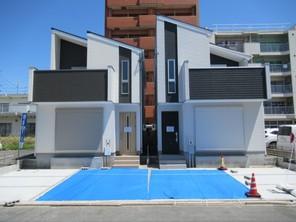 最終限定1邸! 南区鶴里町二丁目 新築分譲住宅の外観
