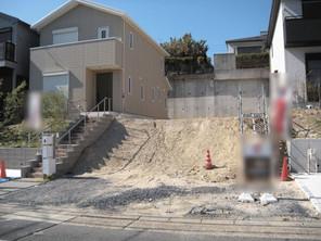 名古屋市緑区鳴海町の宅地の外観