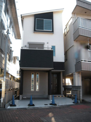 名古屋市北区楠の家の外観