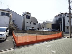葛飾区鎌倉の宅地の外観