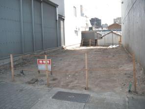 名古屋市中区松原の宅地の外観