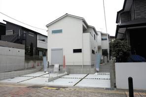福岡市南区野間の家の外観