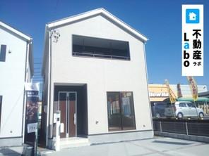 オール電化 宅配BOX付 制震装置搭載住宅の外観