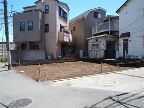 板橋区赤塚新町の宅地の外観