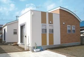 新築住宅・東金市山口の外観