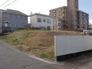 名古屋市瑞穂区下山町の宅地の外観
