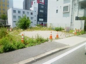 名古屋市中区千代田の宅地の外観