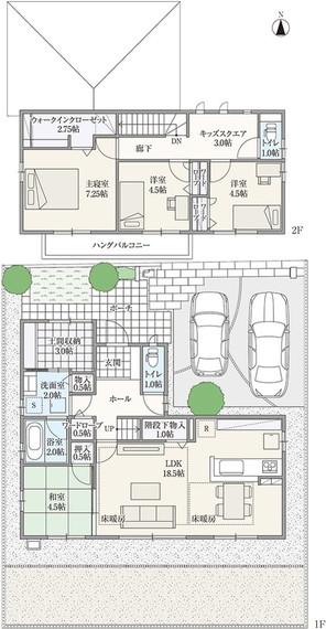 【ダイワハウス】セキュレア瑞穂市役所前 「アクティブ土間のある家」(分譲住宅)の外観
