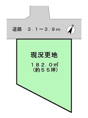 大和郡山市小泉町の間取り図