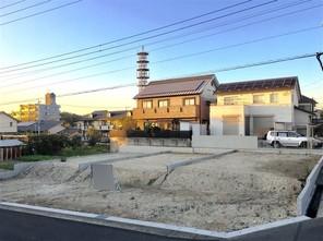 名古屋市名東区高柳町の宅地の外観
