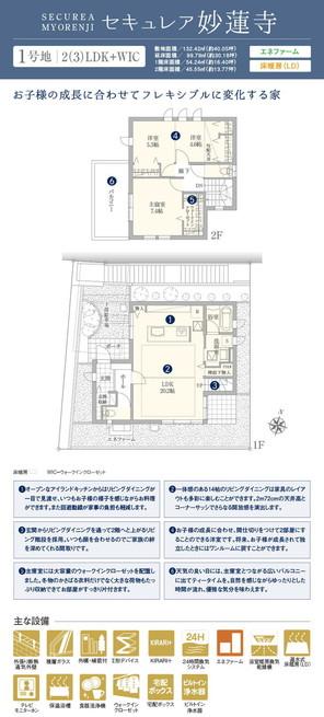 【ダイワハウス】セキュレア妙蓮寺 (分譲住宅)の外観