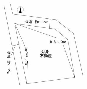 福崎町西田原の間取り図