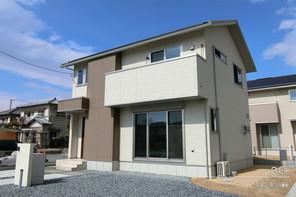 【ダイワハウス】セキュレア松本II (分譲住宅)の外観