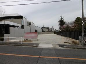 名古屋市瑞穂区松栄町の宅地の外観