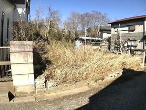 佐倉市上座 土地の外観