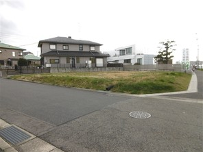 名古屋市守山区大字上志段味の宅地の外観