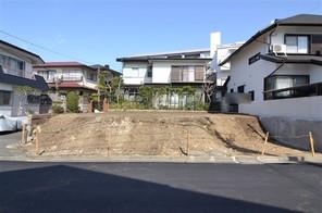横浜市青葉区美しが丘の宅地の外観