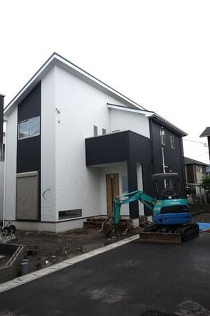 ケイアイフィット新築分譲住宅全5棟博多区諸岡1期の外観