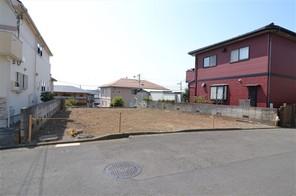 横浜市青葉区しらとり台の宅地の外観