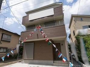 さいたま市大宮区寿能町の家の外観