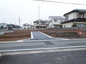 さいたま市北区吉野町の宅地の外観