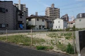 福岡市南区塩原の宅地の外観