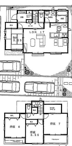 筑紫野市原田3丁目 新築戸建の外観