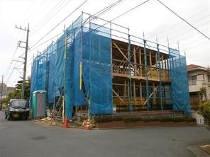 川崎市麻生区白鳥の家の外観