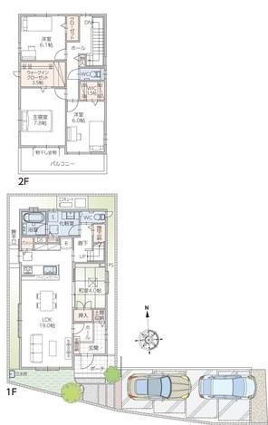 【ダイワハウス】セキュレア筑紫野杉塚 (分譲住宅)の外観