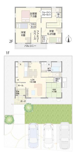 【ダイワハウス】セキュレア惣領 (分譲住宅)の外観