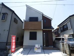 葛飾区細田の家の外観