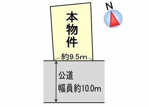 綾部市味方町の間取り図