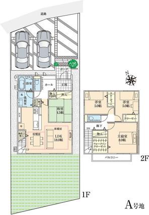【ダイワハウス】セキュレア長泉納米里II (分譲住宅)の外観