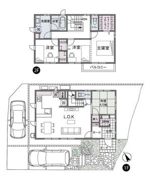 【ダイワハウス】セキュレア海田町稲葉 (分譲住宅)の外観