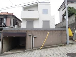 横浜市港南区下永谷の家の外観