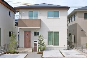 【ダイワハウス】セキュレア沖浜II  「家事シェアハウス」(分譲住宅)の外観
