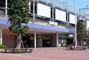 横浜市青葉区荏田町の宅地の外観