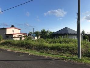 白老町字萩野 住宅用地の外観