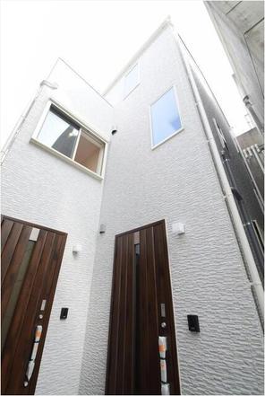 【門前仲町】新築2世帯住宅の外観