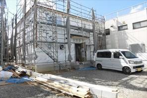 四日市市赤堀新築住宅の外観