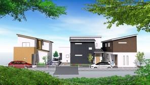 【販売開始】プレシャス小花・川西駅前 全3区画 川西能勢口徒歩約6分の外観