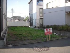 名古屋市中村区烏森町の宅地の外観