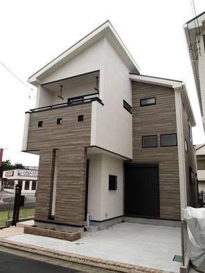 さいたま市北区大成町の家の外観