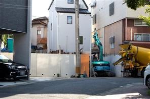福岡市城南区別府の宅地の外観