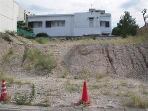 名古屋市瑞穂区松園町の宅地の外観