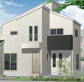 八尾市竹渕西4丁目 新築戸建住宅の外観