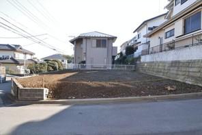 横浜市青葉区藤が丘の宅地の外観