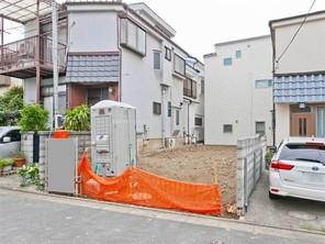 川崎市高津区新作の家の外観